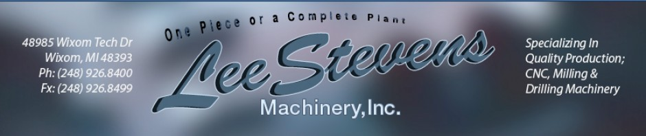 Used Machinery | Used Machine Tools | Used Machinery Dealer | CNC Machine Tools Sales